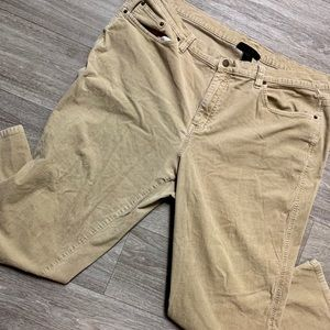 Venezia Plus Size Brand Tan Corduroy Jeans Size 24